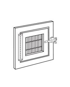 FEEDING DOOR, 9 X 9 W/ HARDWARE